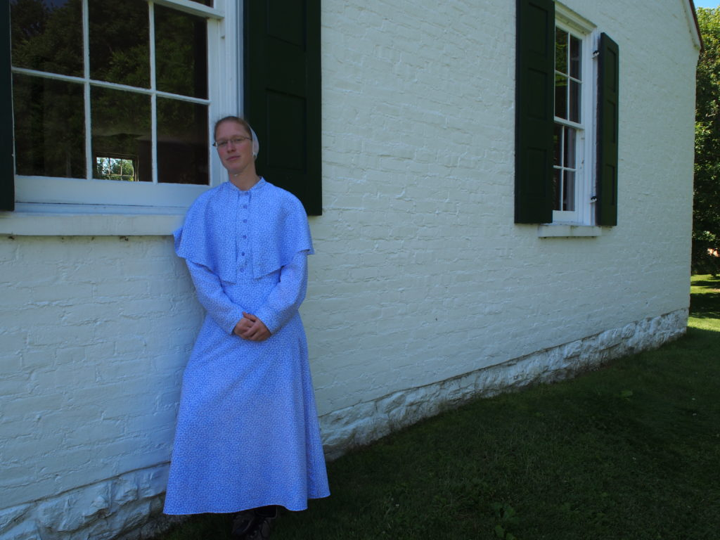 Rosanna Bauman is German Baptist Brethren and lives in Kansas