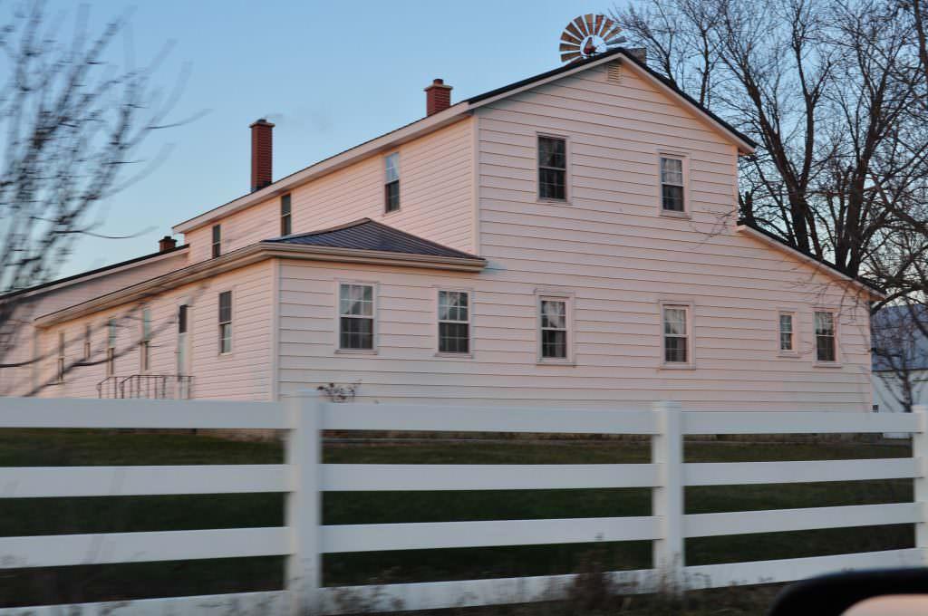 Beautiful Amish Country Farmhouse
